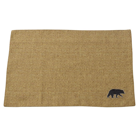 "Ashbury Bear Placemat (Set of 4) - 16""x20"""