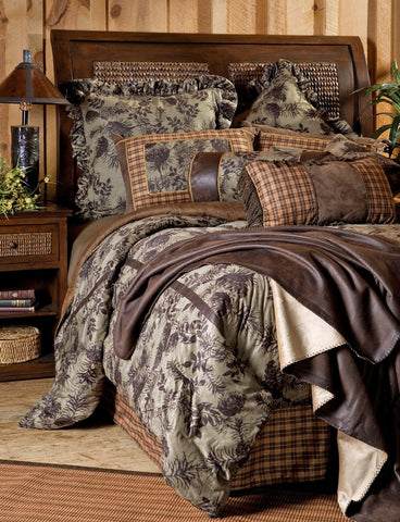 Moss Pinecone Bedding Set - Various Sizes
