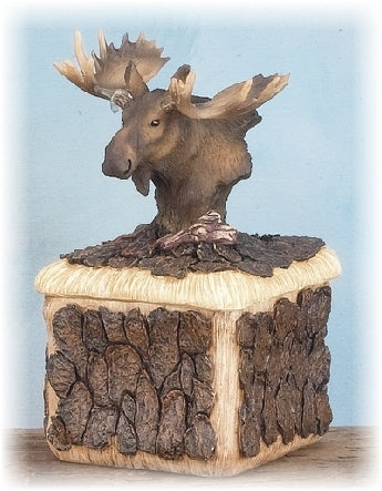 Moose Trinket Box
