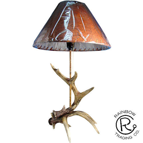 Antler Lamp and Shade