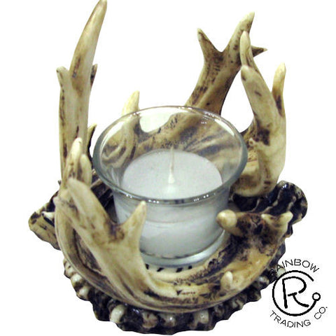 Antler Votive Candle Holder