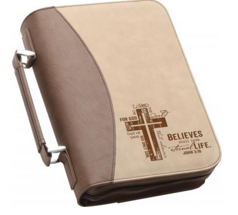 Bible Cover For God So Loved The World