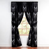 """Bone Collector Black"" Curtains & Valance"
