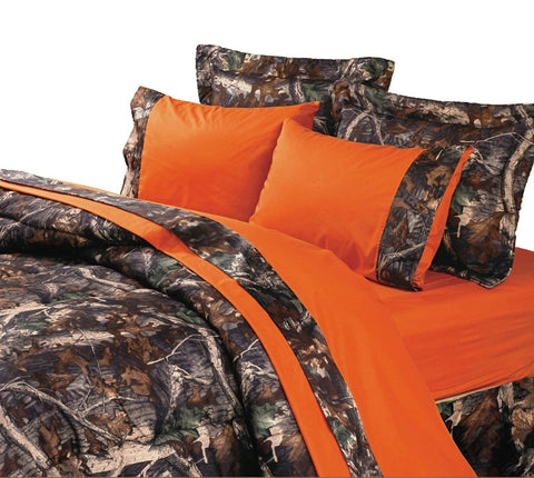 Orange Camo Sheet Set - Various Sizes