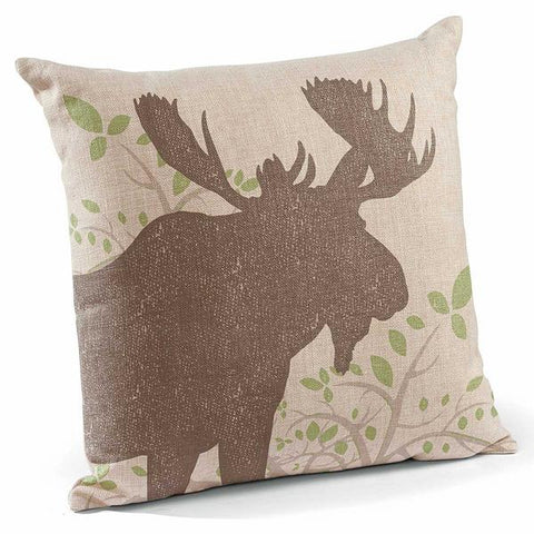 "Moose 18"" Decorative Pillow"