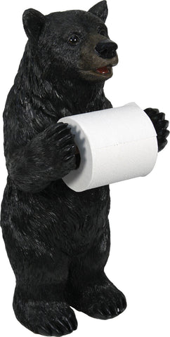 Standing Bear Toilet Paper Holder