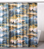 """Cabin Retreat"" Shower Curtain"