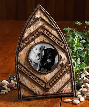 Rustic Canoe Picture Frame