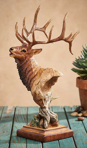 High Point - Elk Sculpture