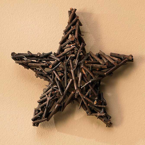 Layered Twig Star - 12""