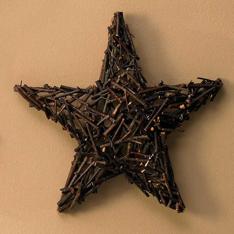 Layered Twig Star - 16""