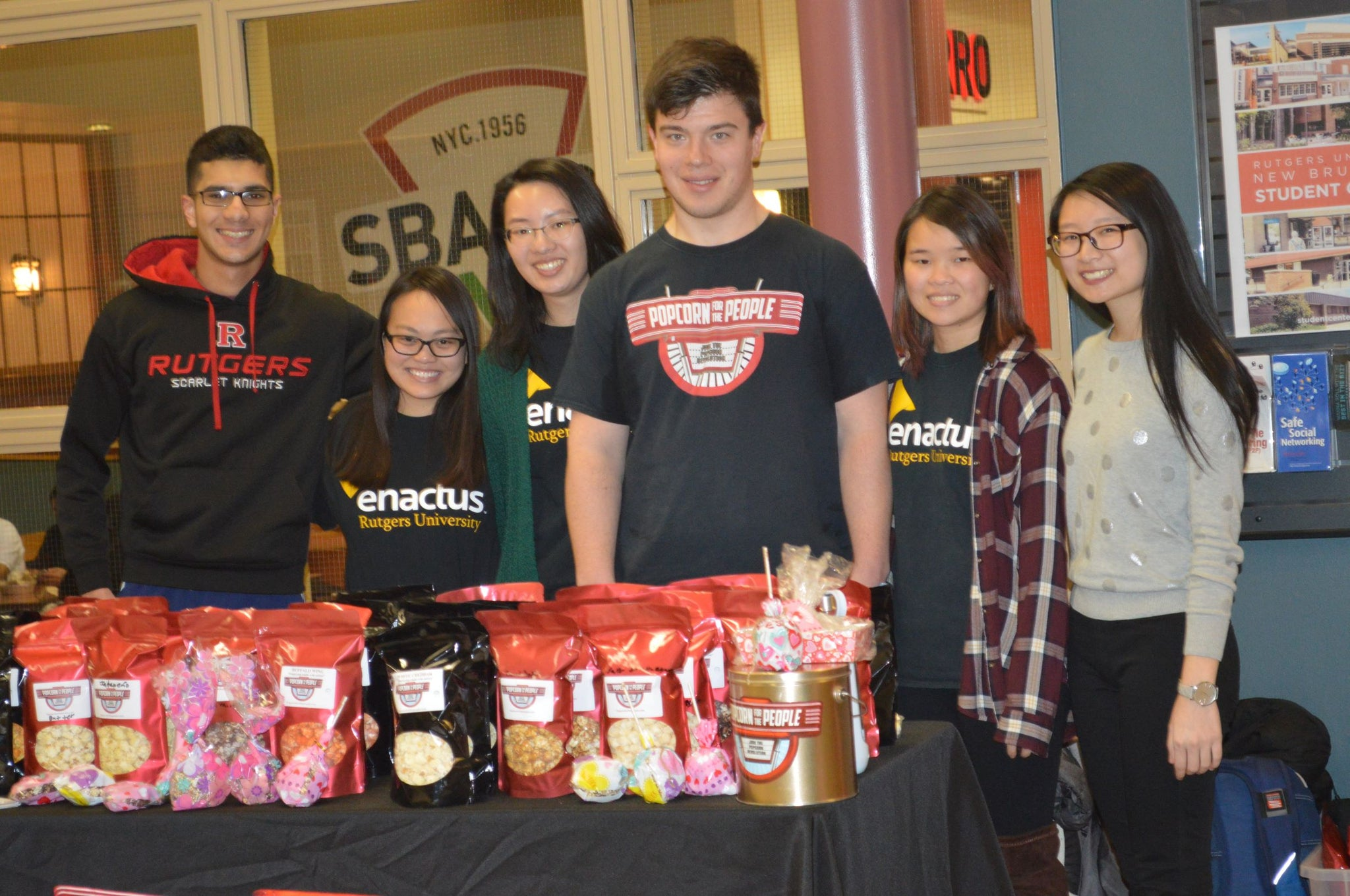 Popcorn for the People partners with Rutgers Enactus to create sustainable autism employment