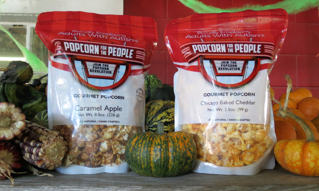Fall into Autumn with Gourmet Popcorn Flavors