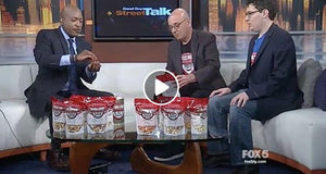 Popcorn for the People on Fox Five News!
