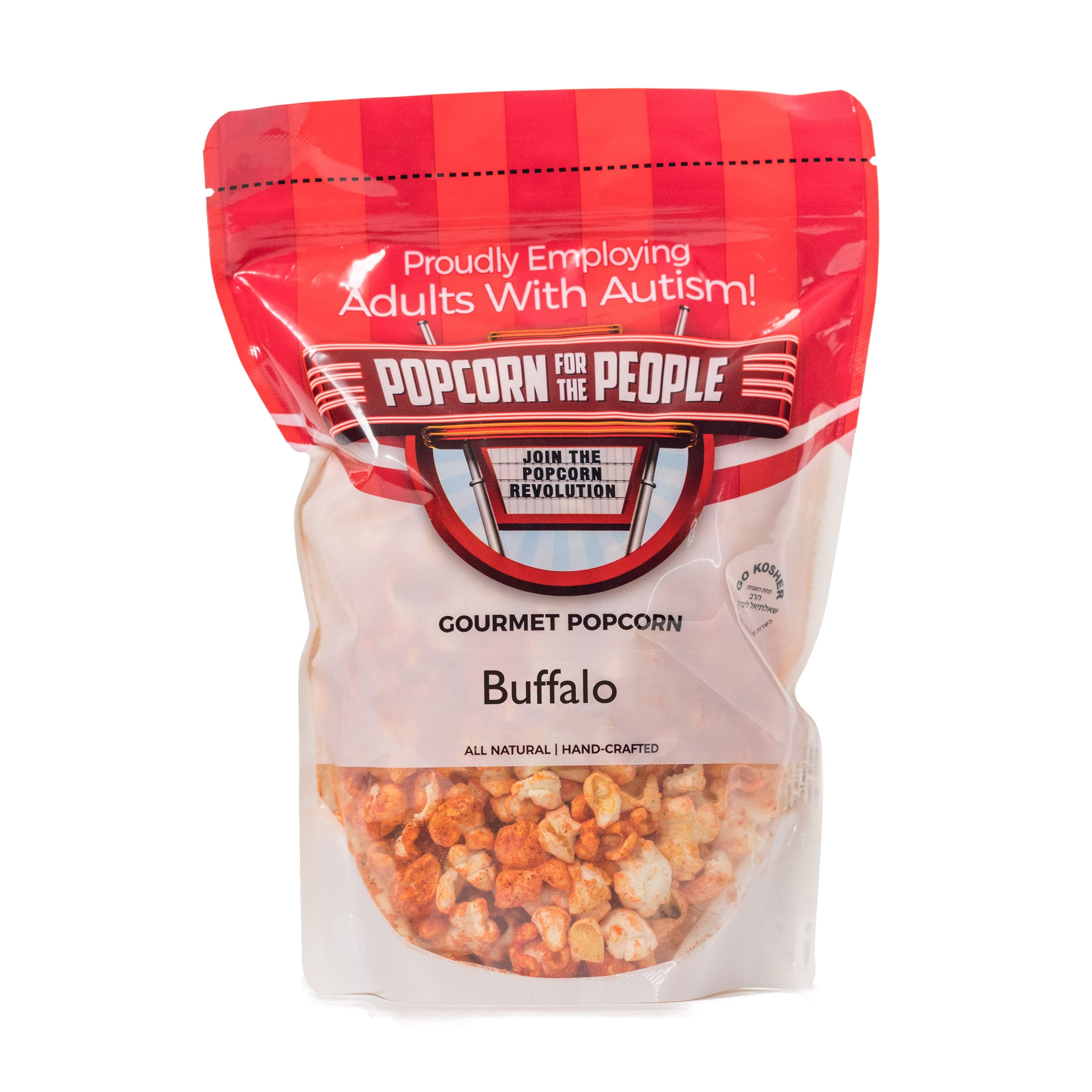 Buffalo Flavor Popcorn Popcorn For The People Bag