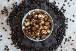 Load image into Gallery viewer, Dark Chocolate Espresso Popcorn For The People Flavored Popcorn Tasty Art Scene