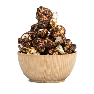 Dark Chocolate Espresso Popcorn For The People Flavored Popcorn Tasty Art