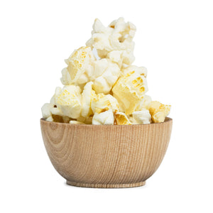 White Cheddar Flavor Popcorn Popcorn for the People Tasty Art