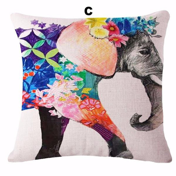 Malawi Elephant Throw Pillow : Artisan Elephant Throw Pillow Covers ? EliJay