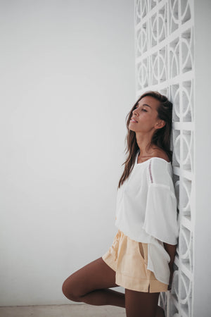 Sanchia Marcelle Blouse Ivory