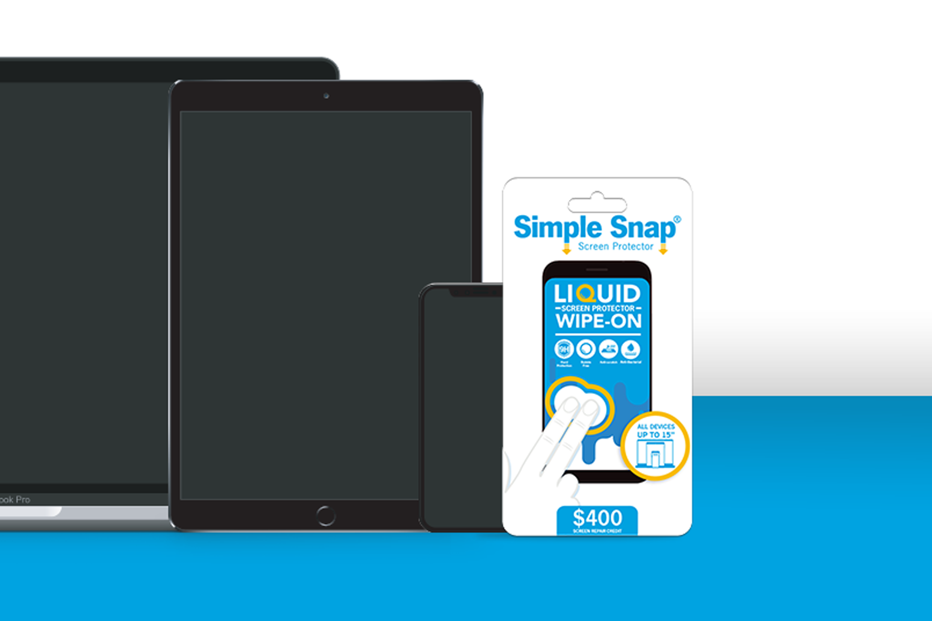 Simple Snap Edge To Edge Tempered Glass Screen Protector