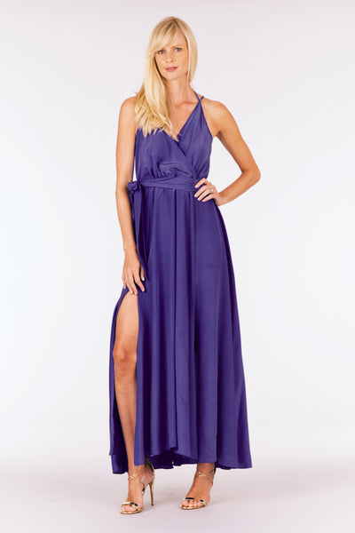 Zoe Dark Purple Dress