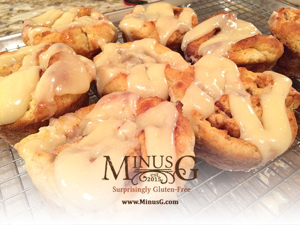 """Goey Cinnamon Rolls"" - Fresh Bakery Item at the Markets for August"