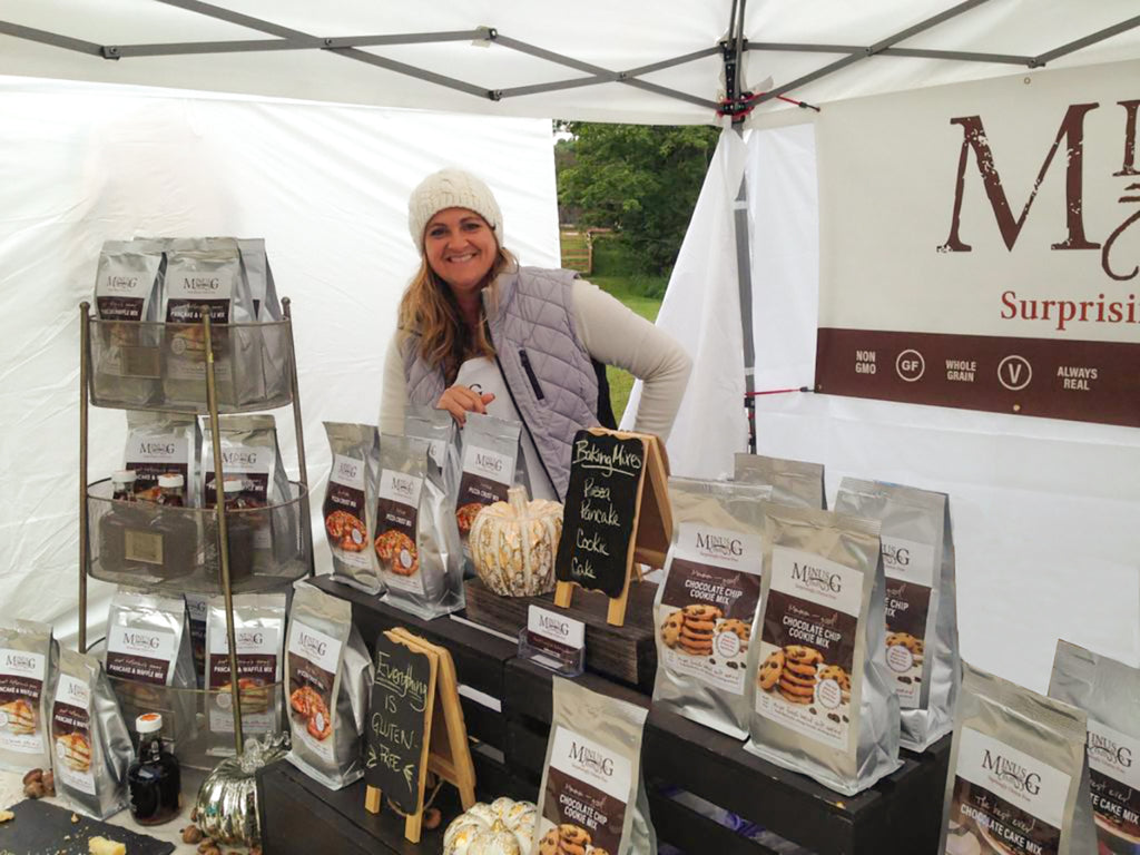Picture of Founder Katherine, the MinusG Baker