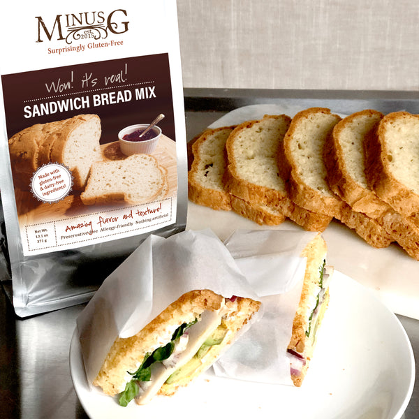 Wow, it's real! Sandwich Bread Mix