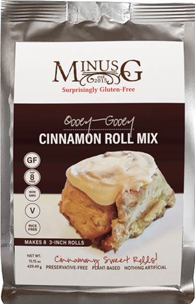 Oooey-Gooey Cinnamon Roll Mix
