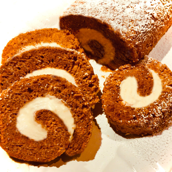Deliciously Indulgent! Pumpkin Roll Mix