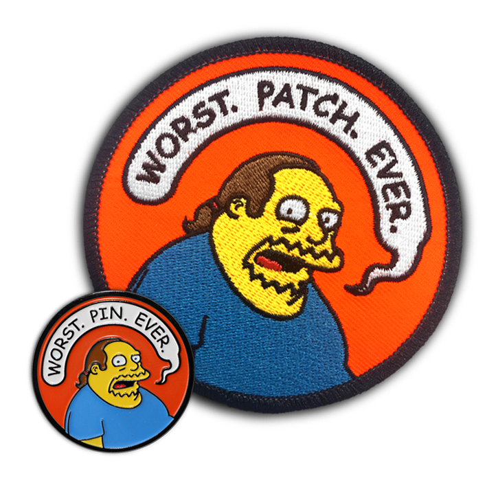 """WORST. COMBO. EVER."" PIN & PATCH"
