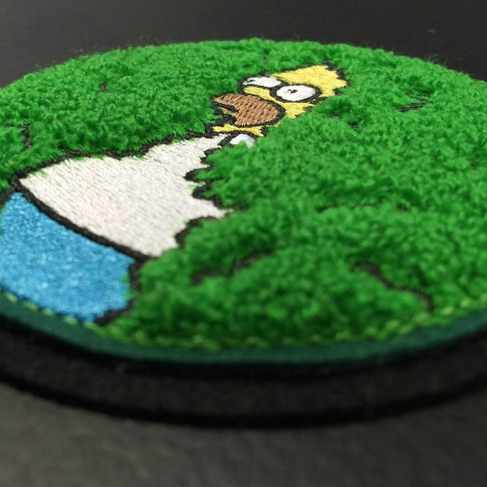DISAPPEARING HOMER CHENILLE PATCH – The Patch Parlour Collective