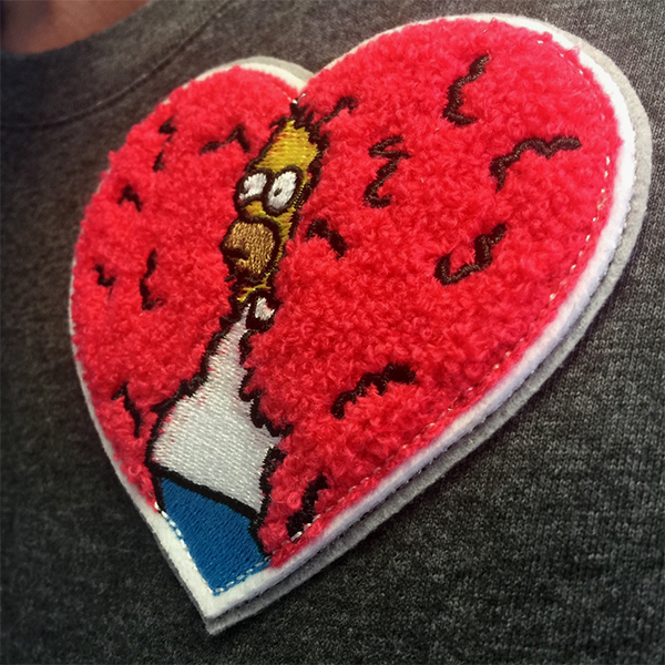 DISAPPEARING HOMER LOVERS' EDITION PATCH