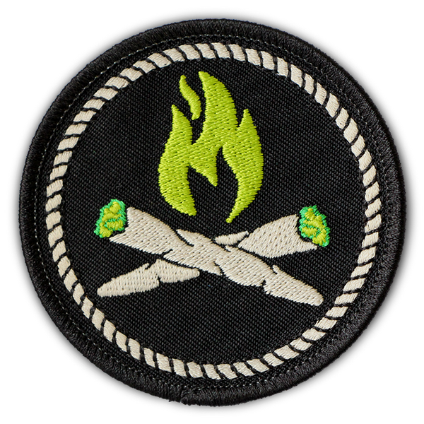 STONER CAMPFIRE MERIT PATCH