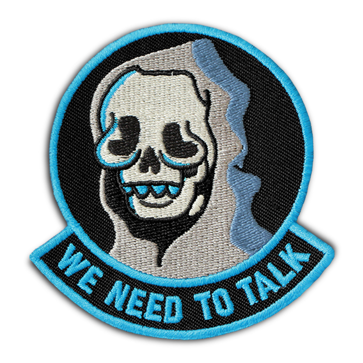 'WE NEED TO TALK' PATCH - By Chus Margallo