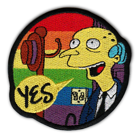 "THE ""SMITHERS I'M HOME"" PROUD PATCH"