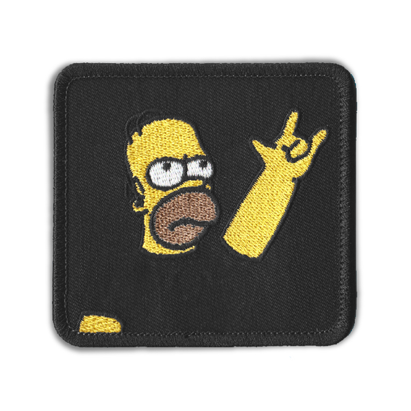 THE ROCK N' ROLL HOMER PATCH
