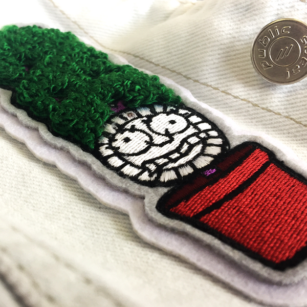 MEET YOUR NEW MOTHER CHENILLE PATCH