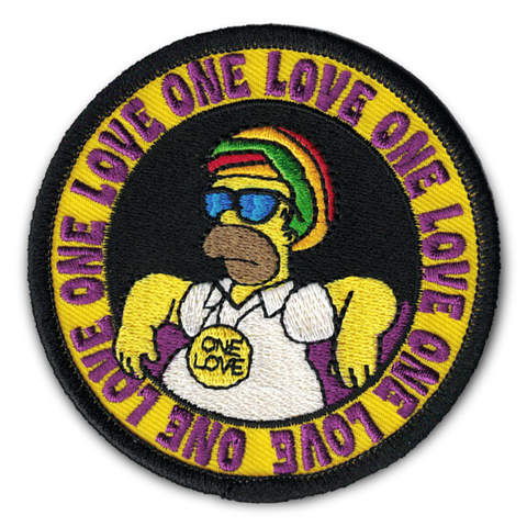 HOMER'S 'ONE LOVE' PATCH