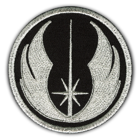 THE 'JEDI ORDER' METALLIC PATCH