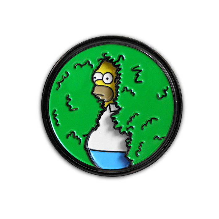 "DISAPPEARING HOMER PIN (AKA ""The Pin Built for Homer"")"