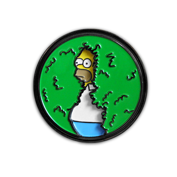'DISAPPEARING HOMER' PATCH & PIN COMBO!