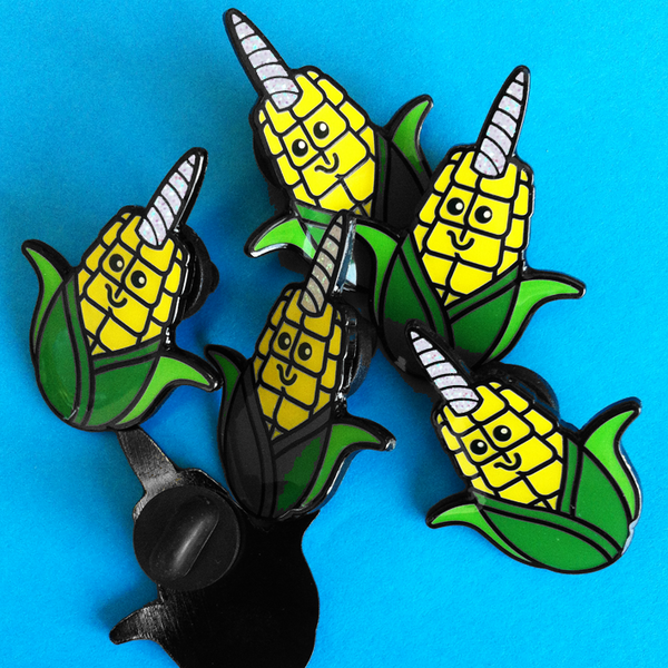 MAGICAL UNI-CORN ENAMEL PIN