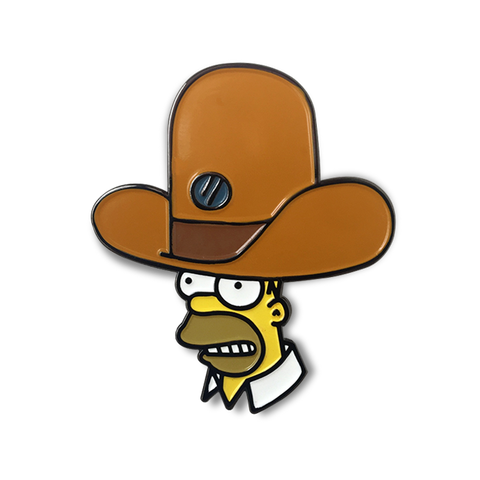 HOMER'S OVERSIZED NOVELTY HAT ENAMEL PIN
