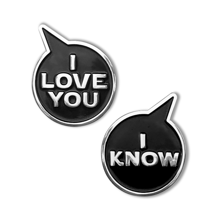 I LOVE YOU • I KNOW PIN COMBO
