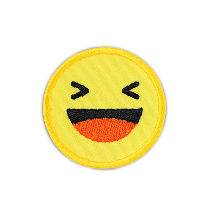 FB 'HAHA EMOJI' PATCH
