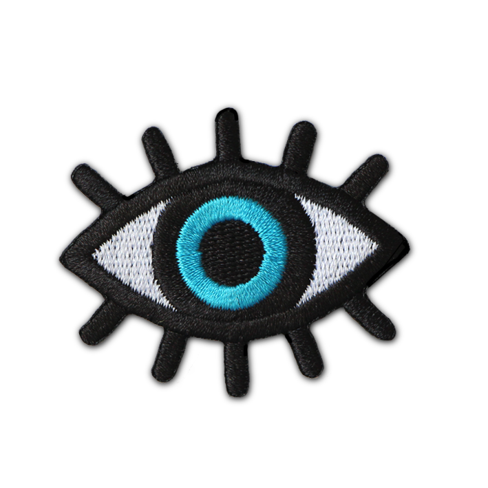 GREEK  EVIL EYE  PROTECTION PATCH – The Patch Parlour Collective 96fa04ed2