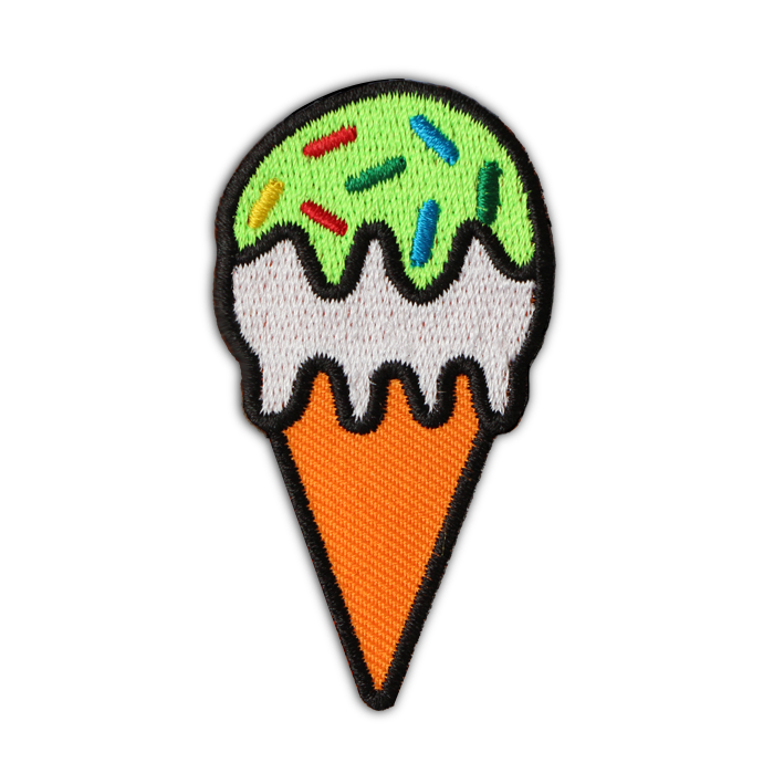 NEON ICE CREAM PATCH