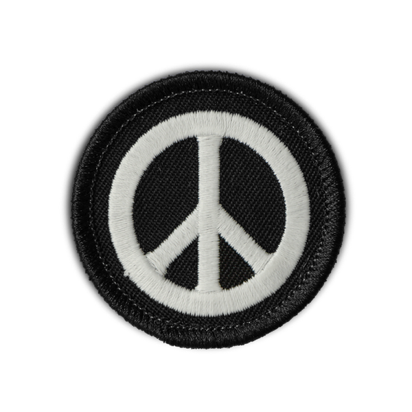 PEACE SYMBOL PATCH (glow-in-the-dark!)